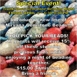 tRUNK sHOW eVENT flyer