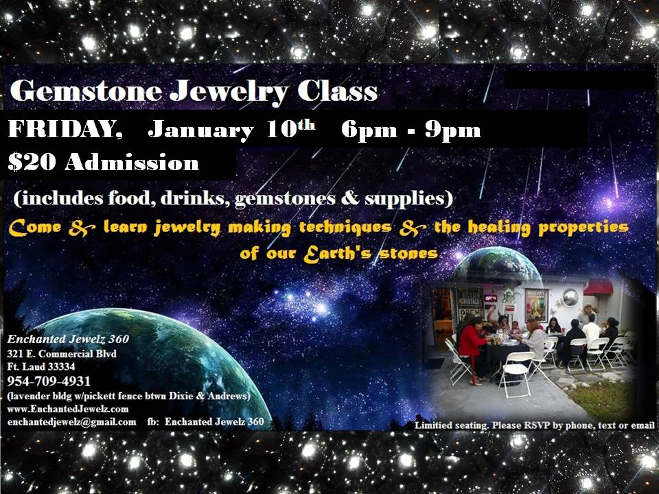 Gem Class Flyer January 2014