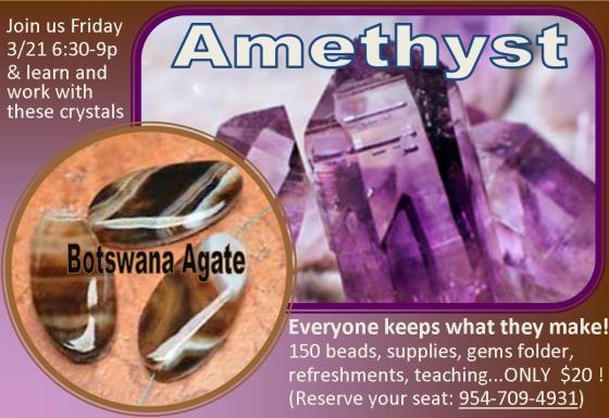 Amethyst & Botswana Agate